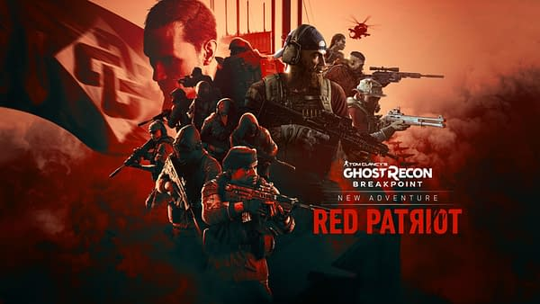 Ghost Recon Breakpoint gets a little more subversive with Red Patriot, courtesy of Ubisoft.