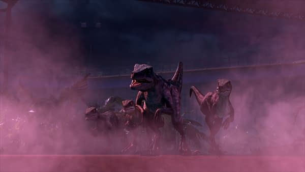 A look at Jurassic World: Camp Cretaceous (Image: Netflix)