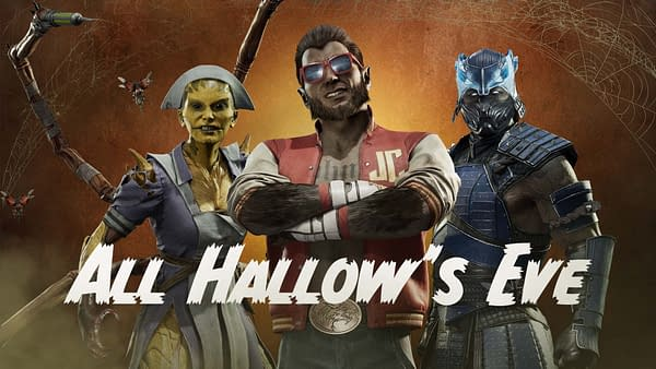 A look at some of the new Halloween skins from Mortal Kombat 11: Aftermath, courtesy of WB Games.