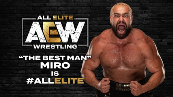 What's Miro Doing in the AEW Dynamite Zone?!