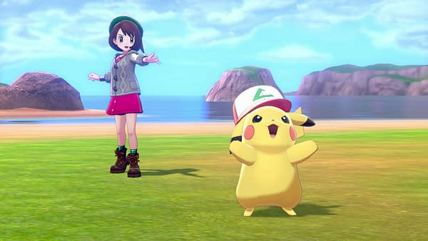 Oh Pikachu, where did you get THAT hat? Courtesy of The Pokémon Company.