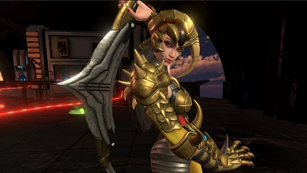 A look at Scorpina from Power Rangers: Battle For The Grid, courtesy of nWay.