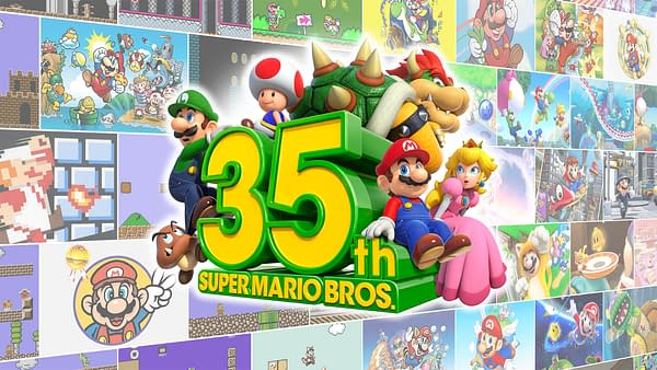 Nintendo has a lot lined up for the Super Mario Bros. 35th Anniversary.