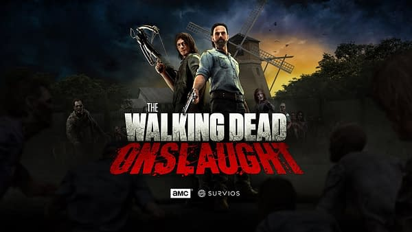 The Walking Dead Onslaught patch is now live on Steam, Oculus Rift and PlayStation VR. Courtesy of Survios.