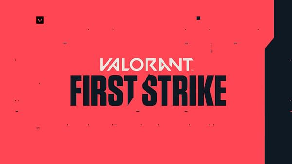 A look at the First Strike logo, courtesy of Riot Games.