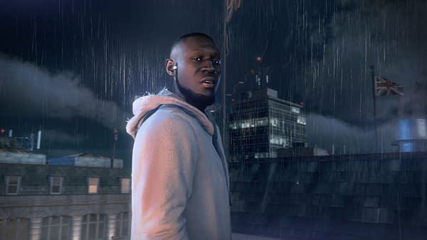 A look at Stormzy as he appears in the game, courtesy of Ubisoft.
