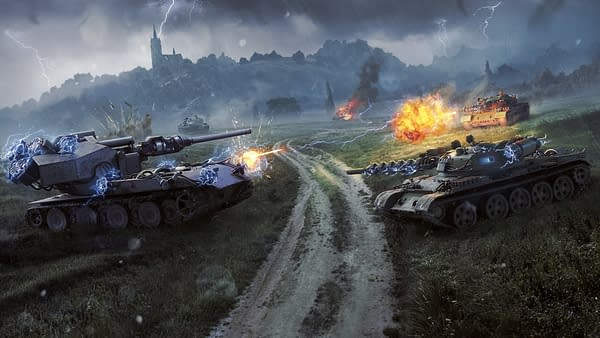 Can you survive against seven other tanks in World Of Tanks? Credit: Wargaming.