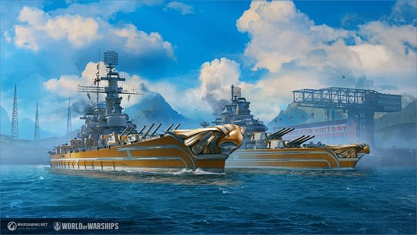 A look at some of the new super-American ships in World Of Warships, courtesy of Wargaming.