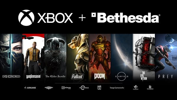 A look at all the Bethesda titles and other companies now under Microsoft's banner.