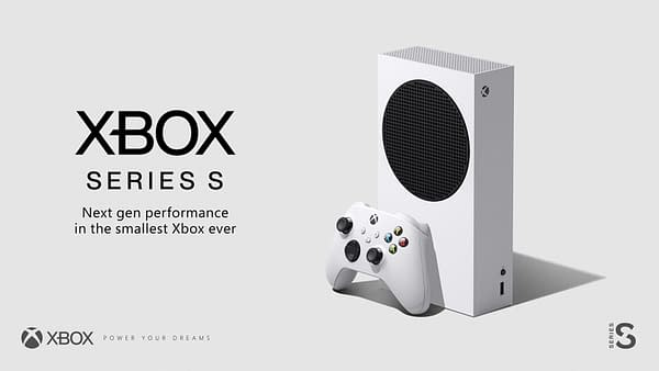 A look at the Xbox Series S from Microsoft, courtesy of Xbox.