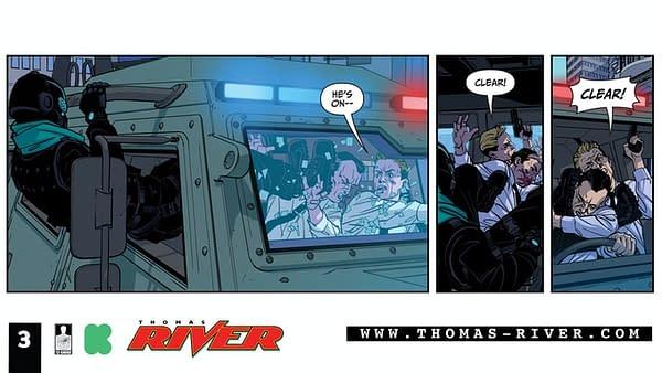 Brian Stelfreeze Finished New Comic, Thomas River #1, on Kickstarter
