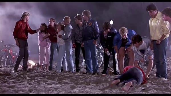 "Cobra Kai: Johnny Views How ""The Karate Kid"" Went Down a Bit Different (Image: screencap)"