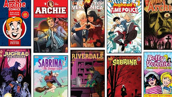 Now Archie Make Comics All-You-Can-Eat Streaming from Day Of Release
