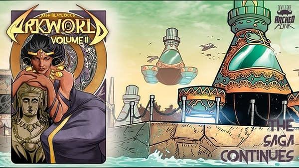 Josh Blaylock Launches Arkworld Volume Two Kickstarter. Credit: Devil's Due