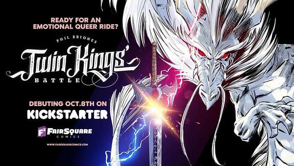 Twin Kings Battle: Phil Briones's Kickstarter for YA LGBTQ Comic