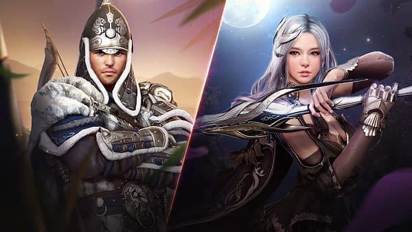 Both versions of the Guardian looking mighty fine up in Black Desert. Courtesy of Pearl Abyss.