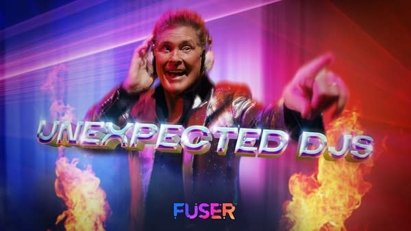 Hasselhoff drove Knightrider, we're pretty sure he can DJ. Courtesy of NCSOFT.