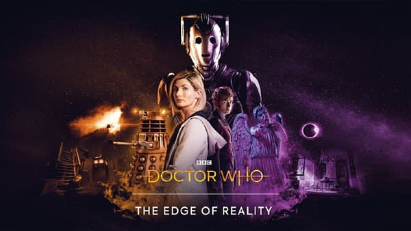 Official promo art for The Edge of Time, courtesy of BBC Studios.