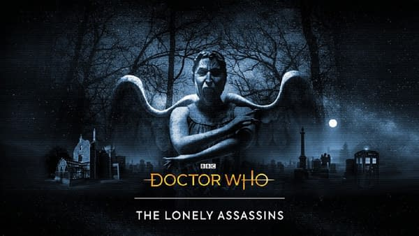 Official promo art for The Lonely Assassins, courtesy of BBC Studios.