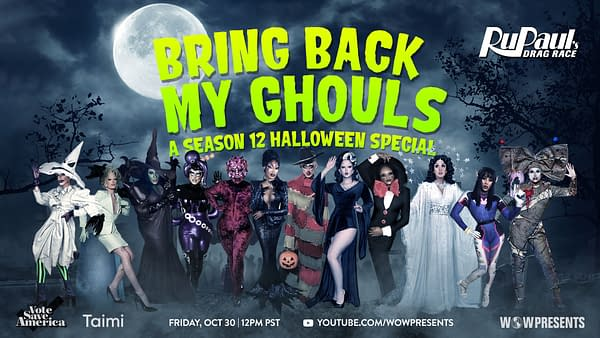 DRAG RACE: Bring Back My Ghouls, Drag Race Gets Spooky Special (Image: WOW Presents)