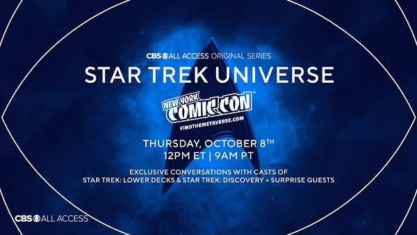 Star Trek Universe brought Discovery and Lower Decks to NYCC Metaverse (Image: CBS All Access)