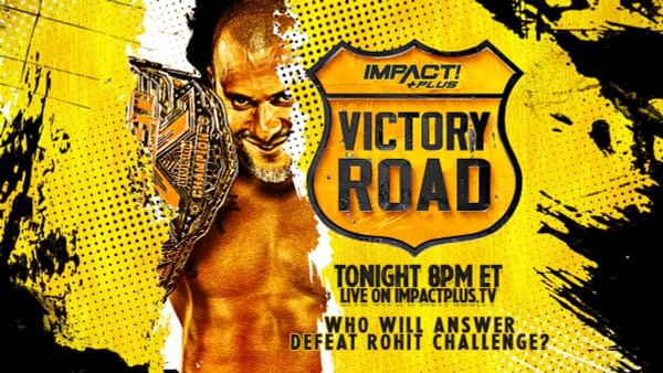 Rohit Raju offers up a shot at the Impact X-Division Championship in an open challenge of sorts at Victory Road.