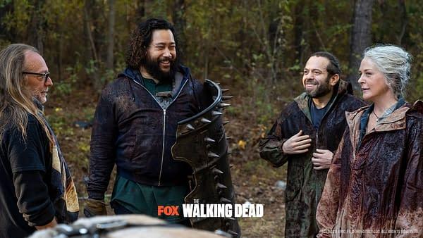 """The Walking Dead Goes BTS of Season 10 Finale """"A Certain Doom"""""""