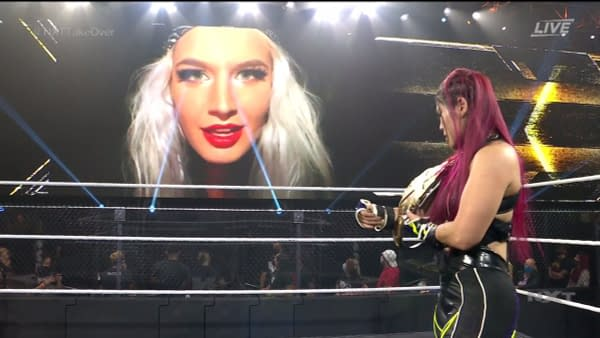 Toni Storm returns (virtually) at NXT Takeover 31