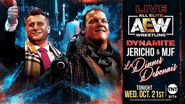 "*Tony Award Nominee* Chris Jericho and MJF ""Me and My Shadow"" | AEW Dynamite, 10/21/20"