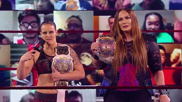 The WWE Women's Tag Team Champions overshadowed Lana to Raw's detriment
