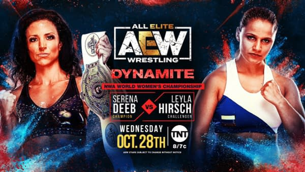 Serena Deeb faces Leyla Hirsch on AEW Dynamite after Thunder Rosa dropped the NWA Championship to Deeb on UWN Primetime