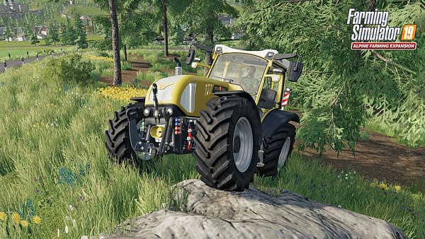 Can you handle working out on the farm with something that's purely electric? Courtesy of Focus Home Interactive.