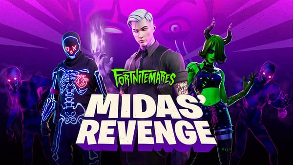 Fortnitemares: Midas' Revenge kicks off today, courtesy of Epic Games.