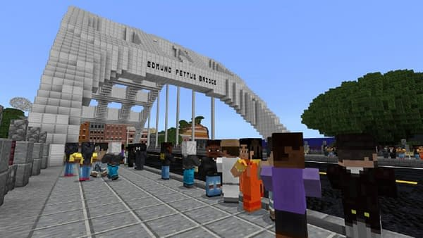 Using the game to learn about civil rights is a brilliant call, courtesy of Mojang.