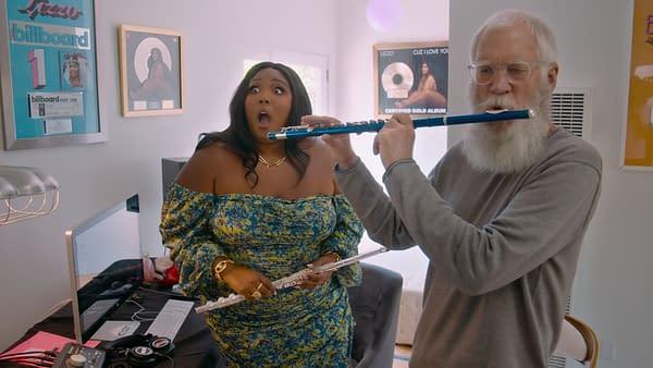 "David Letterman introduces ""My Next Guest Needs No Introduction"" Season 3 guests (Image: Netflix)"