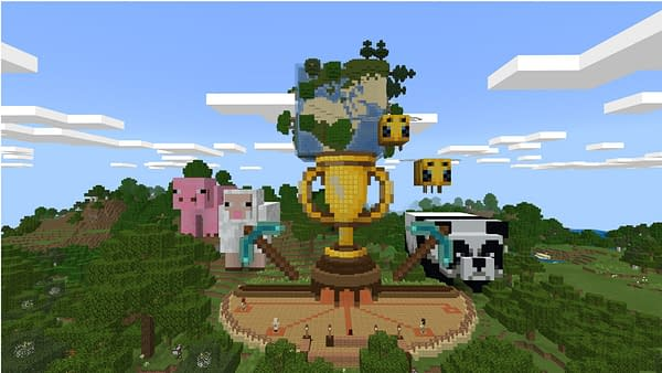Minecraft will be holding an Educational Edition of the Global Build Championship, courtesy of Mojang.