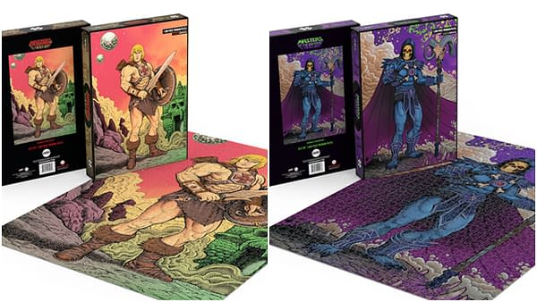 Mondo Offering Two New Masters Of The Universe Puzzles