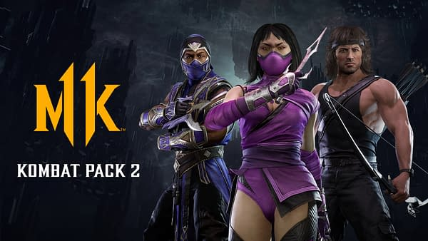 Rain, Mileena, and Rambo are coming to Mortal Kombat 11 Ultimate, courtesy of WB Games.