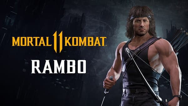 We're still not sure why, but Rambo is coming to Mortal Kombat 11 Ultimate, courtesy of WB Games.
