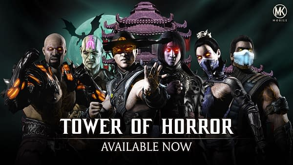 The Tower of Horror arrives in Mortal Kombat Mobile, courtesy of WB Games.