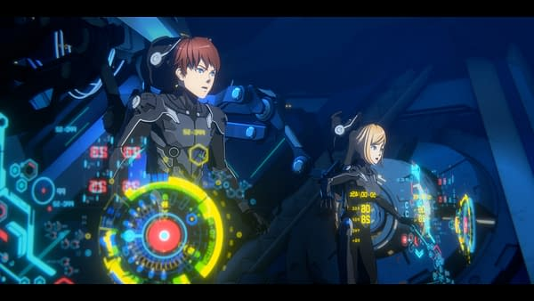 Pacific Rim: The Black first-look anime images (Image: Netflix)