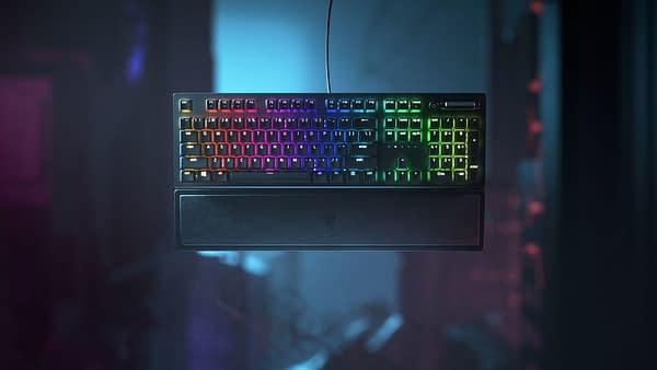A look at the Blackwidow V3 Gaming Keyboard, courtesy of Razer.