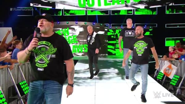 Oh, you didn't know WWE coach The Road Dogg was a COVID truther?! Your ass better caaall somebody! (Like an ambulance for when you get sick.)