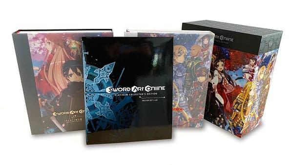 Yen Press Announces Sword Art Online Platinum Collector's Edition