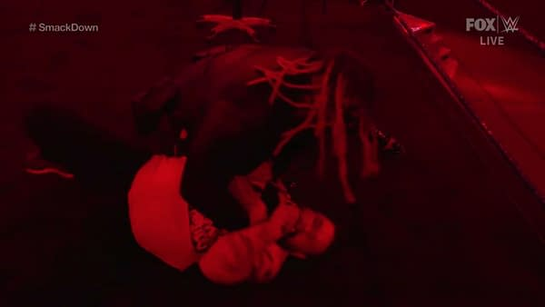 The Fiend Bray Wyatt attacks Kevin Owens on Smackdown, earning an invitation to appear on Monday Night Raw