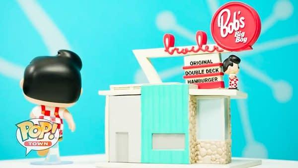 Funko Orders Up a Big Boy Pop Town During Fun TV