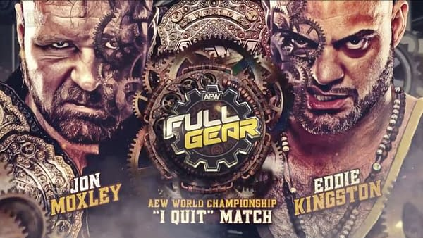 "Jon Moxley will defend his AEW Championship against Eddie Kingston in an ""I Quit"" match at Full Gear"