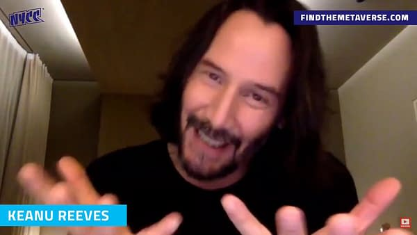 Keanu Reeves Talks About The Secret Origins Of The BRZRKR