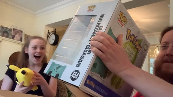 Eve Opens The Box To Giant-Sized Pokemon Funko POP Vinyls