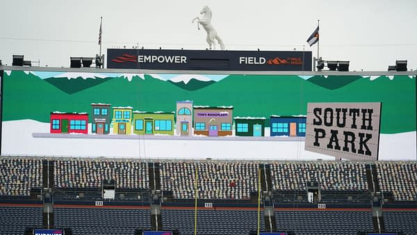 South Park returns to the NFL this Sunday (Images: South Park Studios/Lemar Griffin)